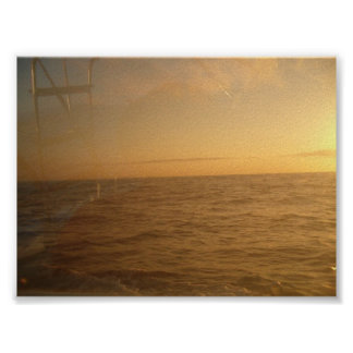 sunrise over the ocean in Cabo Poster