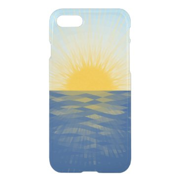 Sunrise over the Ocean New Beginnings iPhone 7 Case