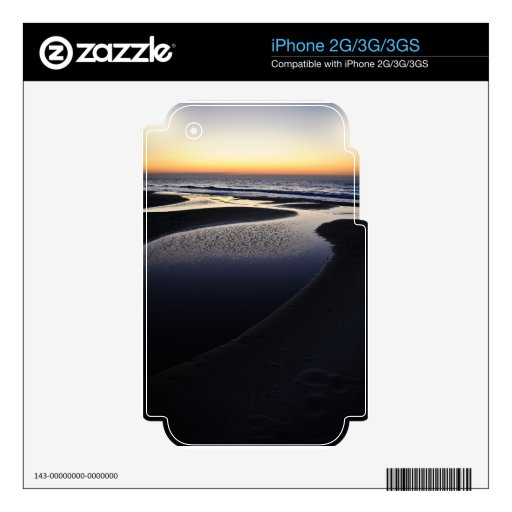 Sunrise over the ocean skin for the iPhone 3