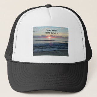 Sunrise over the Outer Banks of North Carolina Trucker Hat