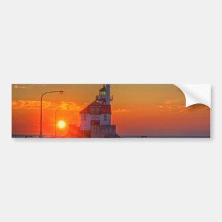 Sunrise over the South Pier Bumper Sticker