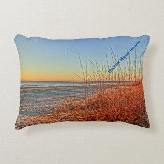 Sunrise Over The Surf! Hilton Head Island, SC Decorative Pillow