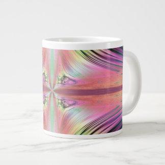 Sunrise over the Waterfalls Fractal Large Coffee Mug