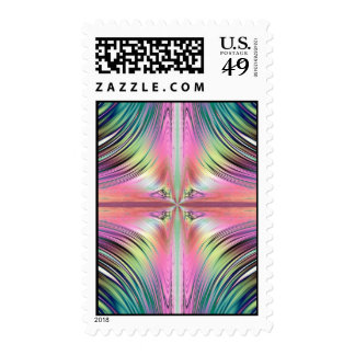 Sunrise over the Waterfalls Fractal Stamps