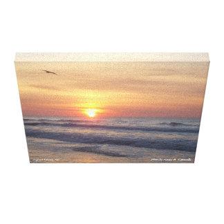 Sunrise Over Topsail Island, NC canvas