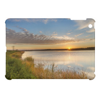 Sunrise Over Wetlands At Arrowwood National Case For The iPad Mini