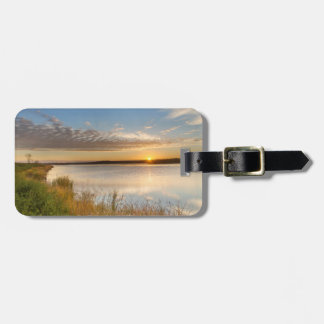 Sunrise Over Wetlands At Arrowwood National Tags For Luggage