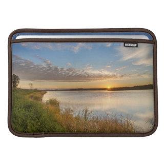 Sunrise Over Wetlands At Arrowwood National MacBook Sleeve