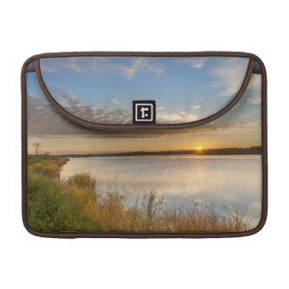 Sunrise Over Wetlands At Arrowwood National Sleeve For MacBook Pro