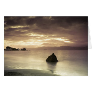 Sunrise over Worser Bay, New Zealand Card