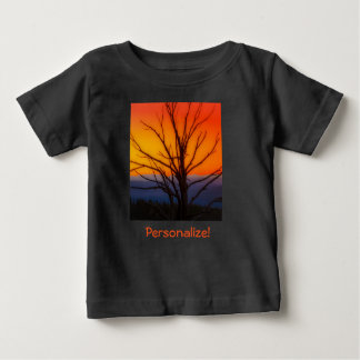 Sunrise Over Yellowstone National Park Design Baby T-Shirt