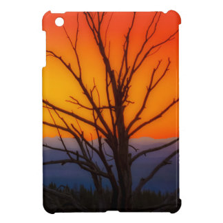 Sunrise Over Yellowstone National Park Design Cover For The iPad Mini