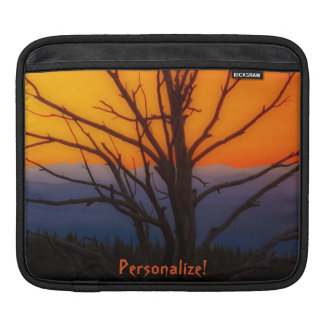 Sunrise Over Yellowstone National Park Design Sleeve For iPads