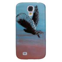 Sunrise Owl Art Galaxy S4 Cover