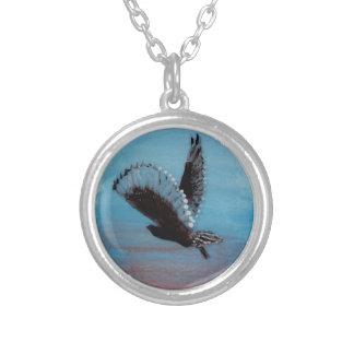Sunrise Owl Art Necklaces