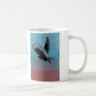 "Sunrise Owl Painting ""it's a hoot""! Coffee Mug"