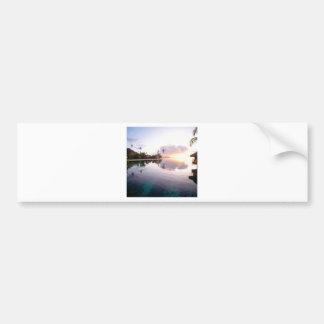 Sunrise Palmilla Coast Cabo San Lucas Mexico Car Bumper Sticker