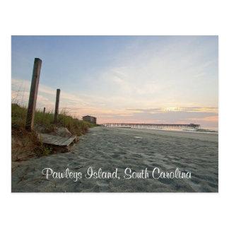 Sunrise Pawleys Island South Carolina Post Card