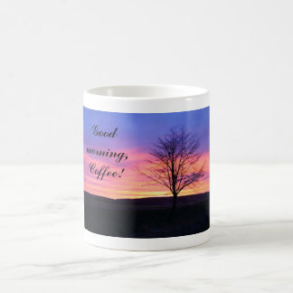 Sunrise Photo 11 Oz Magic Heat Color-Changing Coffee Mug