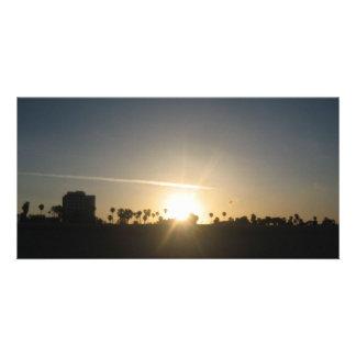 Sunrise Photo Card Template