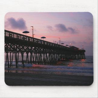 Sunrise Pier Mouse Pad