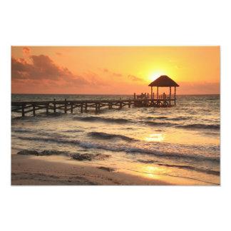 Sunrise Pier Photo Print