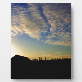 Sunrise Display Plaque