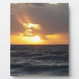 Sunrise Display Plaques