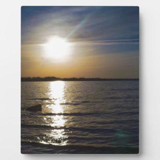 Sunrise Photo Plaque