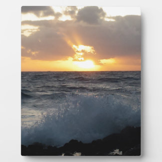 Sunrise Plaques