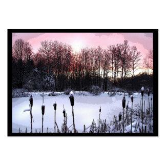 Sunrise Pond ATC Large Business Cards (Pack Of 100)