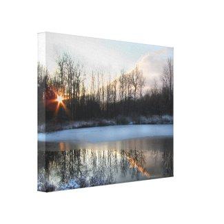 Sunrise Pond in Upstate New York