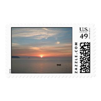 Sunrise Postage Stamp