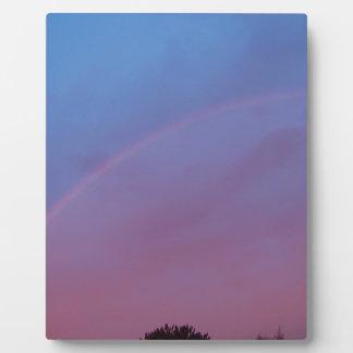 Sunrise Rainbow Plaque