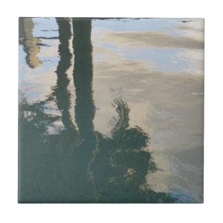 Sunrise Reflection Tile