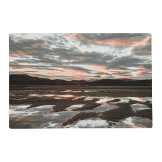 Sunrise reflections at Lago Grey Placemat