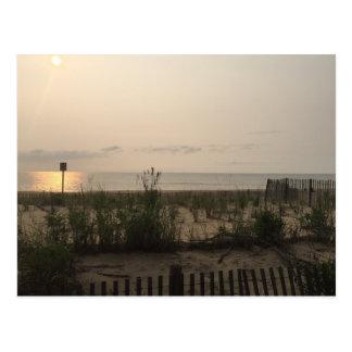 Sunrise, Rehoboth Beach, DE Postcard