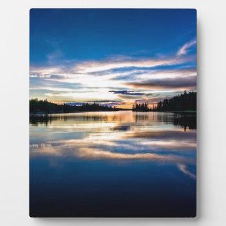 Sunrise River Reflections Plaques