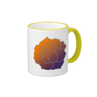 Sunrise Rose Mug