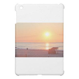 Sunrise Sandy Beach Ocean Lifeguard Stand Photos iPad Mini Cases