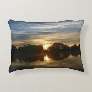 Sunrise Scenery Decorative Pillow