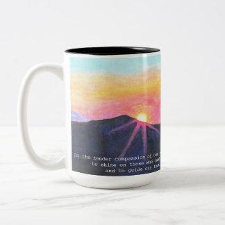 Sunrise Scripture Mug
