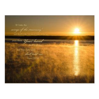 Sunrise Scripture Postcard: Psalm 139 Postcard
