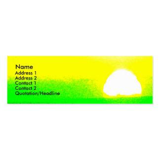 Sunrise Scripture Profile Card Business Card