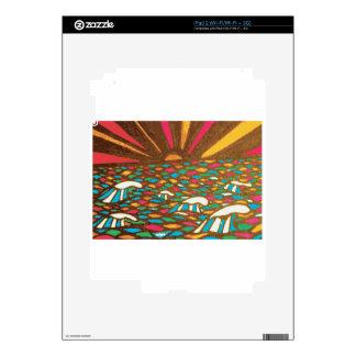 Sunrise Seascape Pop Art Decals For The iPad 2