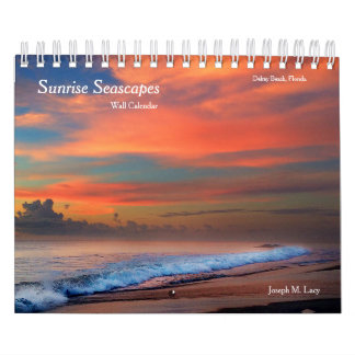 Sunrise Seascape Wall Calendar
