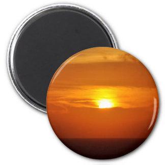 Sunrise Sensation 2 Inch Round Magnet