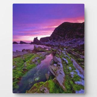 Sunrise Sheer Purple Plaque