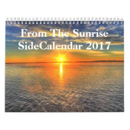 Sunrise Side 2017 Calendar
