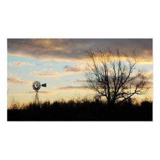 Sunrise Silhouette Business Card